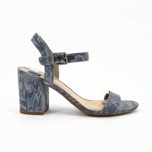 CIRCUS by Sam Edelman nwot Ashton Denim Blue Heels